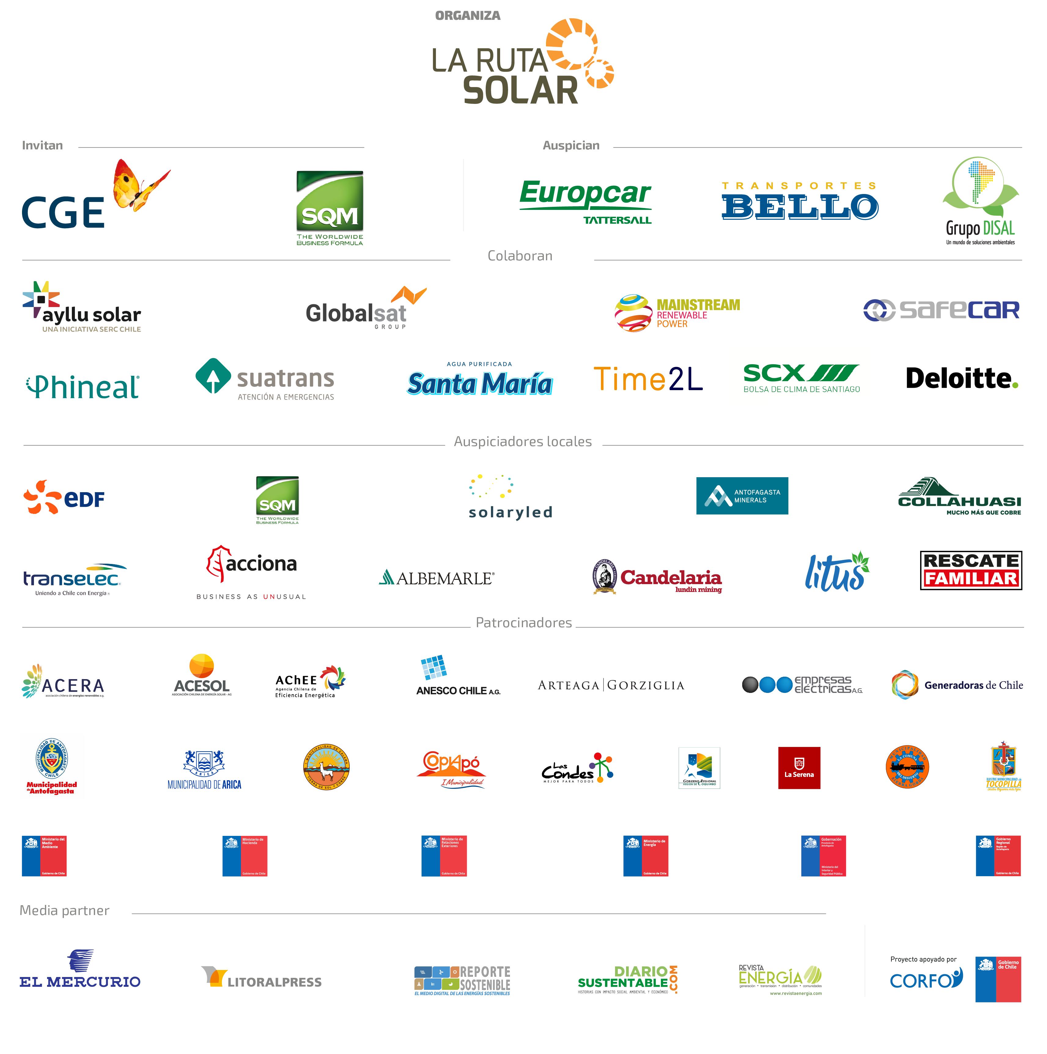 Sponsors CSA18